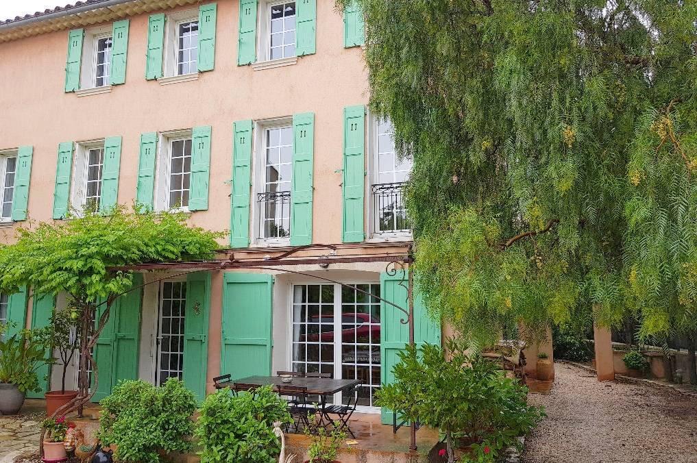 La villa de 1780 à vendre à Six-Fours