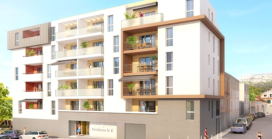 A vendre appartement t3 lot 205 parking 18 a toulon 83200 for Appartement t3 neuf
