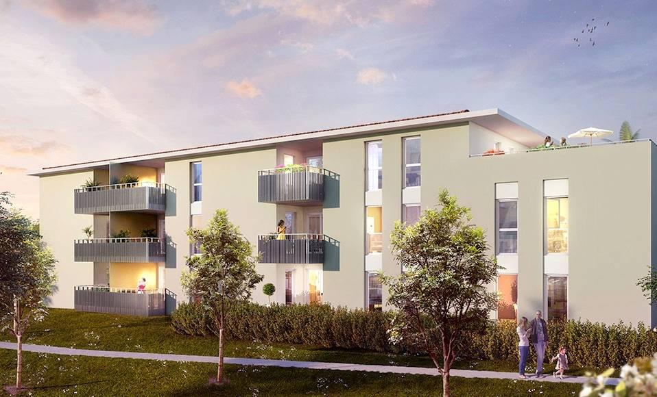 pr sentation du programme neuf santal r sidence a six fours les plages 83140 immobilier var. Black Bedroom Furniture Sets. Home Design Ideas